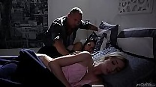 Schoolgirl drilled by her firend's daddy - zoe parker