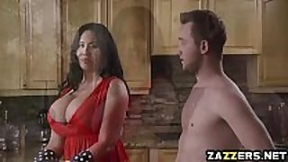 Hot milf sybil stallone engulf van wylde unfathomable face gap