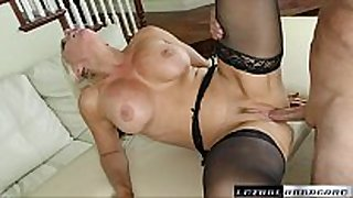Busty blond alena acquires a biggest dong unfathomable inside...