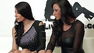 Sofia has sex with martina gold in her live sex...