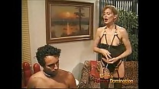Extremely lewd fellow enjoys being spanked and wh...