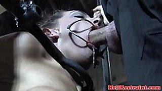 Caned pliant deepthroats maledom