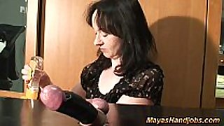 Cbt with captive strapon and balls