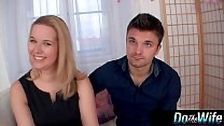 Blonde sexually sexually slutty white dark dong sluts receives screwed with her spouse watching
