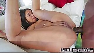 Black beauty and sexy bethany benz receives her hole...