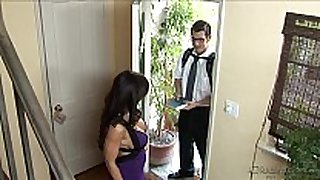 Lisa ann youthful guy with sexy mom