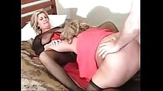 Threesome bbw screaming for anal