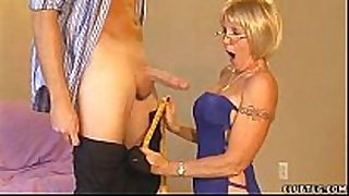Mature sexually sexually sexually lascivious BBC whore give cook jerking