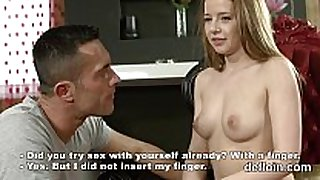 Losing virginity of cute playgirl soft fur pie and p...