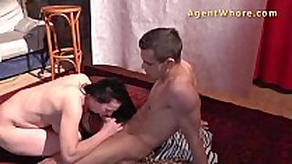 Young guy receives sucked and drilled by perverted milf
