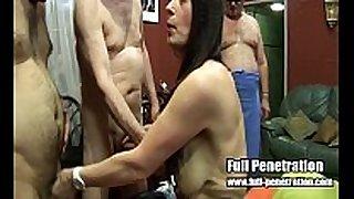 Lexie - team fuck act from a british sex club
