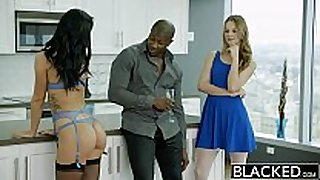 Blacked 2 girlfriends jillian janson and sabr...