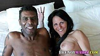 Raquel abril con un chico black chaps de bruno y mari...