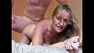Beautiful mature golden-haired vickie enjoys a hawt af...