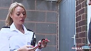 Pure xxx films corrupt police woman with huge love milk shakes