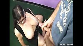 Big-sized milf jerking her daughter's boyrfiend