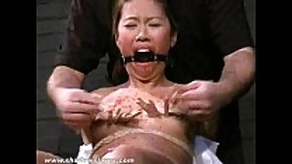 Asian serf koko in tit tortures and asian b...