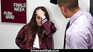 Innocenthigh - schoolgirl natalie monroe copulates ...