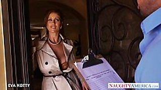 Sexy milf eva notty engulf and jump ding-dong