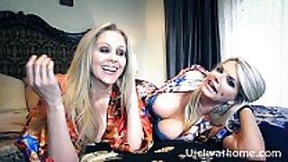 Vicky vette & julia ann's first ever movie scene scene scene?!