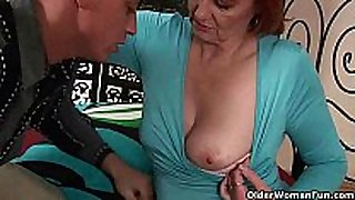 Grandma craves your fist and warm cum