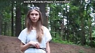 Picnic ended hard anal sex