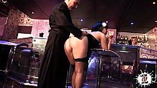Priest fucking doxy in club