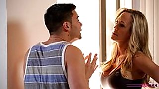 Moms educate sex - mama teaches stepson how to fuck