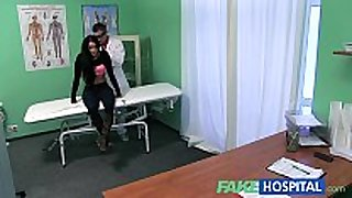 Fake hospital doctors strapon turns patients frown...