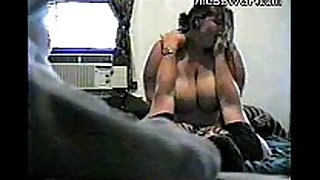 Horny chunky bbw ex gf with big love muffins riding penis o...
