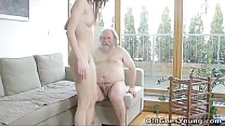 Old goes young - alina didn't think old fellows cou...