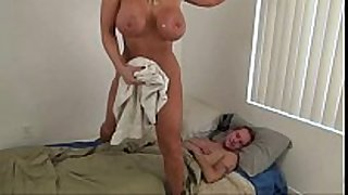 Hot mom assist son - alura jenson