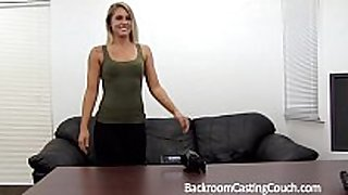 Fit sweetheart fucked right into an dark gap n creampie on casting couch