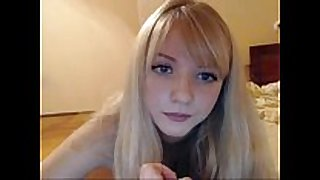 Teen blondie web camera