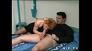 French redhead doxy anal screwed in a hotel room