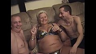 Amateur chaps with mature fatter matures