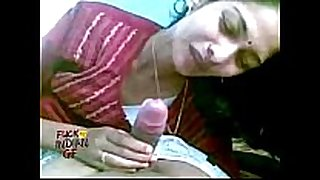 Indian cheating white bawdy slut sexually sexually concupiscent cheating dirty doxy non-professional cheating wife sucking giving her man a blow job in...
