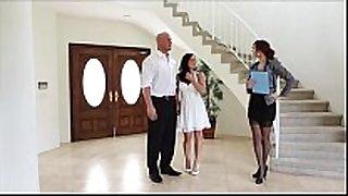 Puremature couple fuck real estate broker