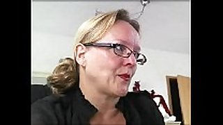 Mature german amateur sexually concupiscent Married floozy 3