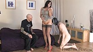 Carly's cuckold part1 - bitch bitch headmistress carly - femmef...