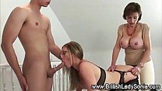 Lady sonia femdom fuck lesbo