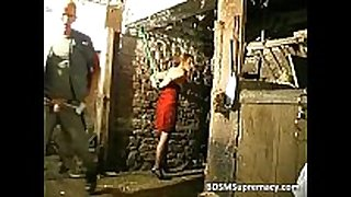 Bdsm action in basement where chap ties