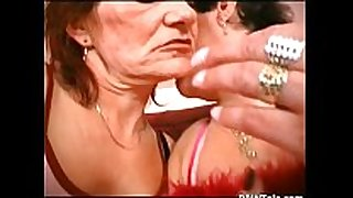Lesbian grannies moist crack and love muffins licking