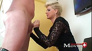 Blonde scarlet young screwed by sex tool salesman