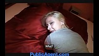Publicagent blond student monika can not live out of my giant...
