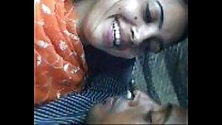 Bangladesh dude giving a kiss girflriend