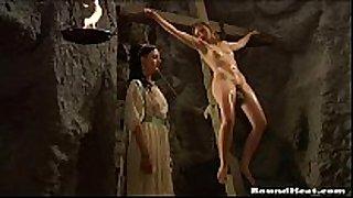 Lesbian thrall torture video scene scene scene scene - slave tears of...