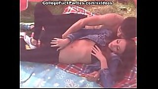 Slutty redhead fingered and screwed