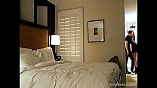 Hot hotel room sex with a busty Married whore