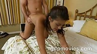 Cute juvenile black brown does her first adult movie scene scene scene